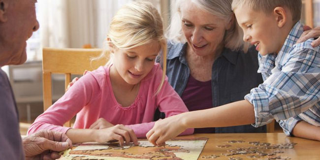 2 October - National Grandparents Day in Italy
