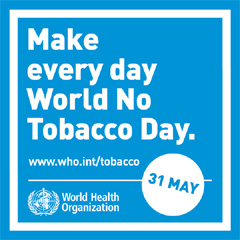 Holiday Calendar World No Tobacco Day In 2019 The Coming