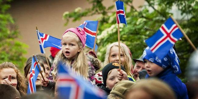 17 июня считается Днем Независимости Исландии