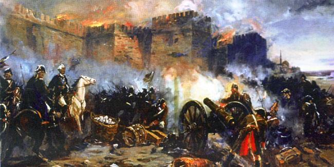 Штурм турецкой крепости Измаил