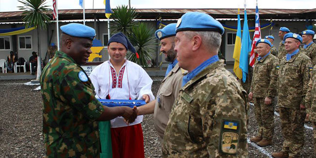 С Днём украинского миротворца!