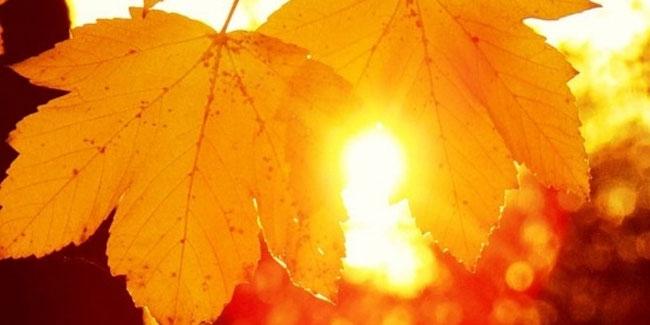 День астрономического начала осени