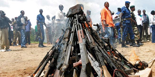 Неделя разоружения проходит каждый год с 24 по 30 октября