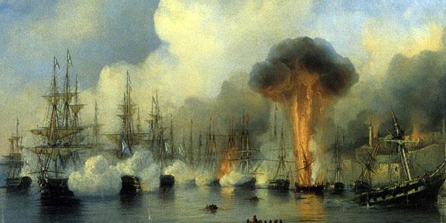 День победы русской эскадры над турецкой эскадрой у мыса Синоп - 1853 год